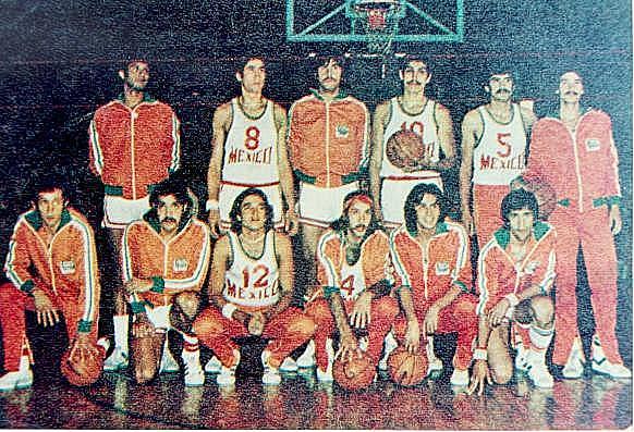 México no participa en la justa deportiva de Baloncesto en 1980