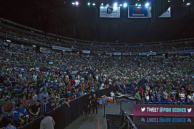 México en el Palacio de los Deportes.