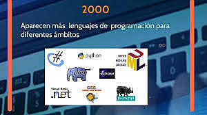 Quinta era de software, nacen lenguajes de programacion