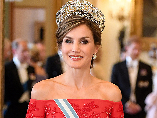 When Letizia was officially queen of Spain