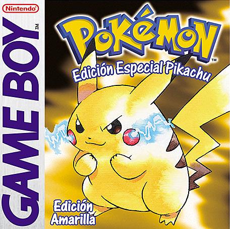 Pokemon amarillo.