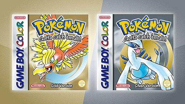 Pokemon Oro y Plata.