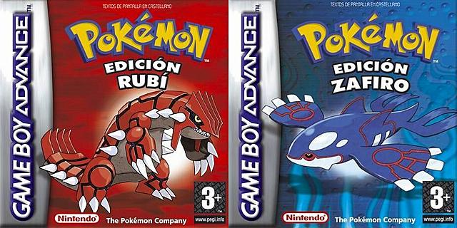 Pokemon Rubí y Zafiro