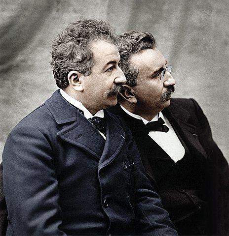 Louis y Auguste  Lumière