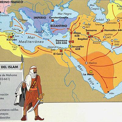 Fris cronologic Islam timeline