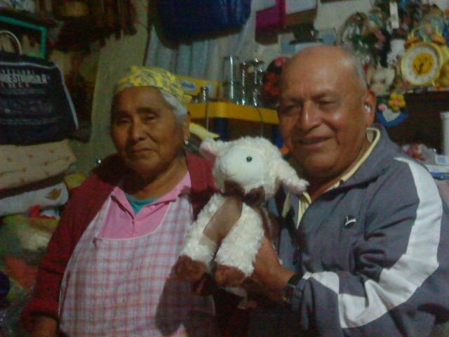 mis abuelos paternos son mayordomos de la principal festividad de mi pueblo