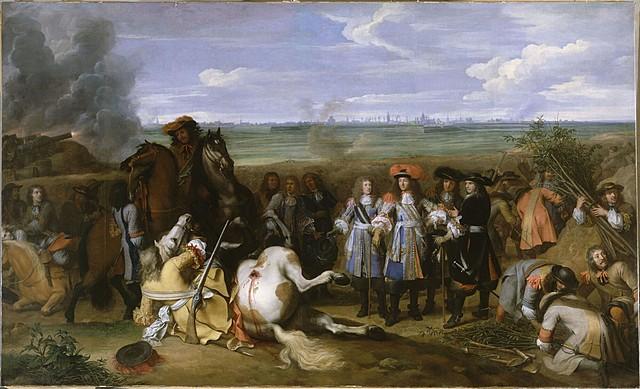 1a Guerra contra Francia. Paz de Aquisgrán. Se reconoce la independencia de Portugal.