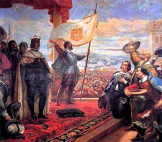 1ª Guerra contra Francia. Paz de Aquisgrán. Se reconoce la independencia de Portugal.