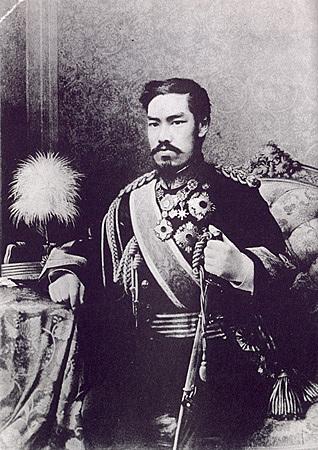 Coroação do Imperador Meiji no Japão