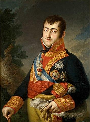 Recoroação de Fernando VII da Espanha