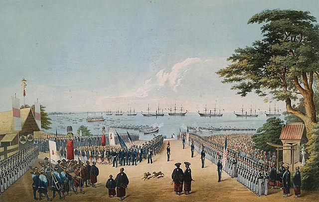 Tratado de Kanagawa e Expedição Americana