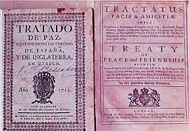 Le Traité d'Utrecht