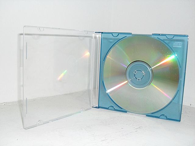 Aparece el CD/ROM.