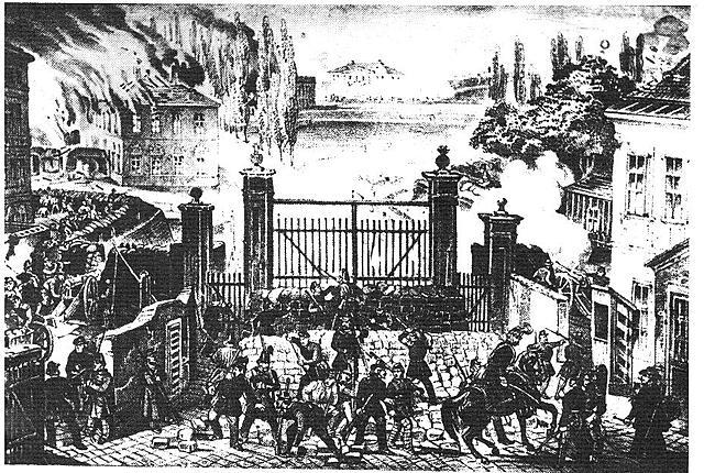 A Vienna e nell'Impero Austriaco arrivano i moti