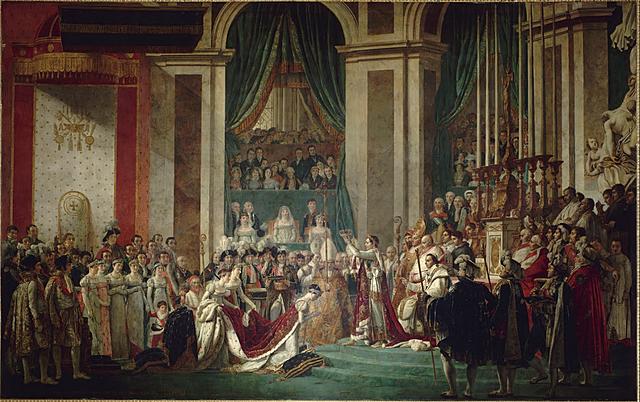 Napoleone si incorona Imperatore dei francesi
