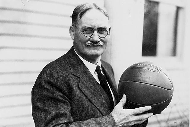 Se inventa el baloncesto por James Naismith