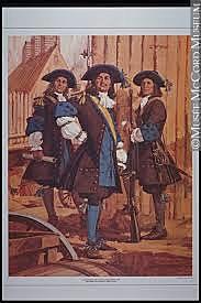 Arrivée du régiment de Carignan-Salières