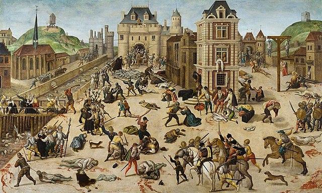 Comienzan los conflictos con los protestantes en los Países Bajos.