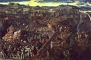 3ª Guerra contra Francia. Invasión francesa en Cataluña en 1691.