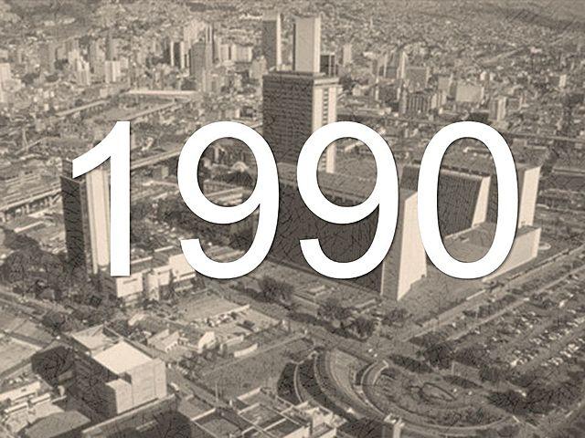 Medellín en 1990