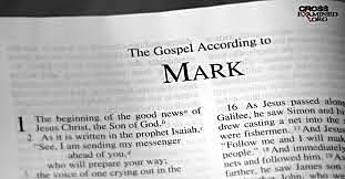 Mark's gospel was written
