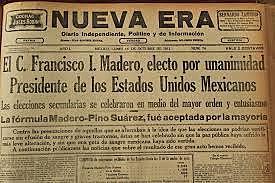 Triunfo de Madero en elecciones