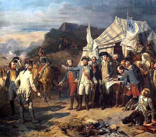 Americans and French form an alliance.