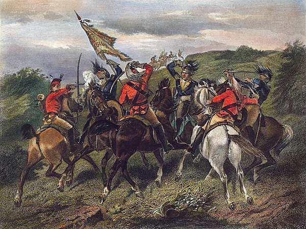 Battles of Cowpens and Guilford Courthouse.