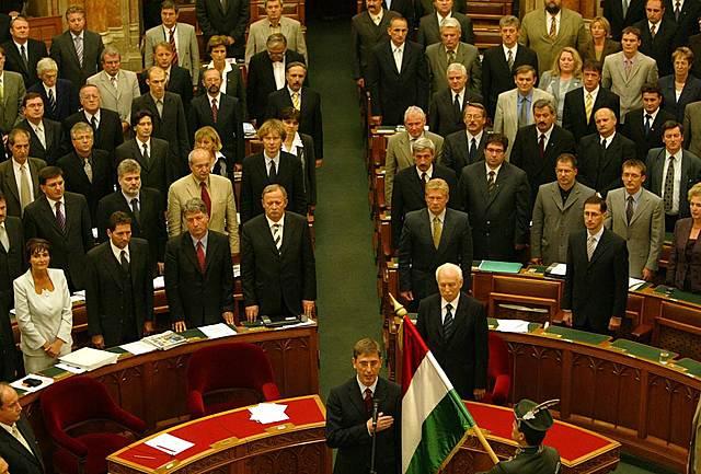 Gyurcsány Ferenc az új miniszterelnök