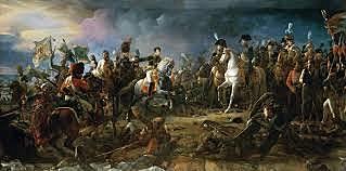 La Batalla de Austerlitz.