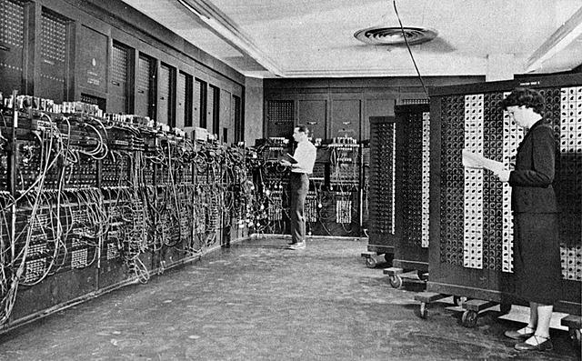 Primer ordenador fabricado