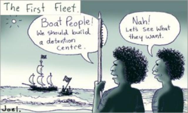 First fleet to Australia