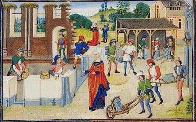 Invention of Wheelbarrow (Medieval Tech)