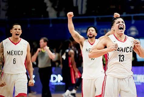 Triunfo en el campeonato de América en la selección mexicana de Baloncesto