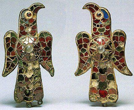 Visigothic eagle fibula