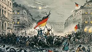 moti rivoluzionari in: Francia, Germania, Prussia e impero asburgico
