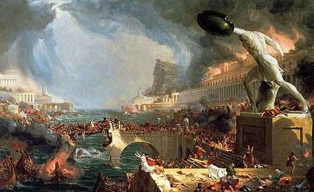 476 Caída del Imperio Romano