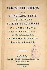 Konstituzioa 1791.urtean.