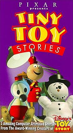 "Pixar's ""Tin Toy""  la primera película realizada en computadoras"