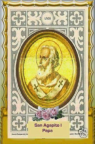 534 Papa Agapito.