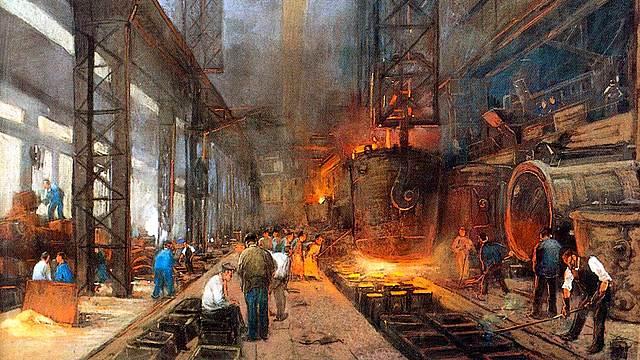 1750 Revolución industrial