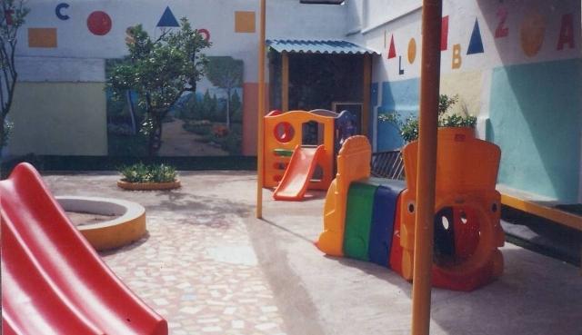 Instalação da Jr no Prédio em Frente