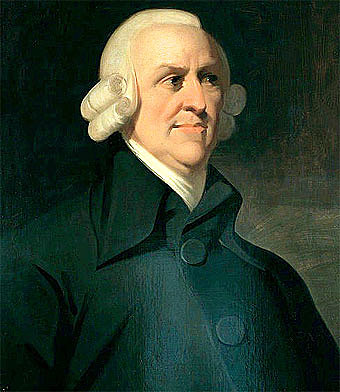 1765  Adam Smith - Especialización del trabajo