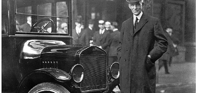 1913 Henry Ford - Sistema de producción en línea