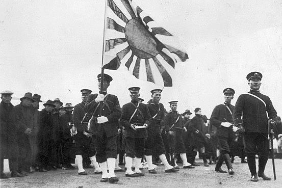 Japón aliados de los Británicos
