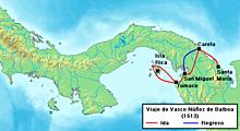 Vasco Nunez de Balboa: hiked through steamy rain forests