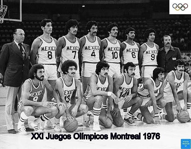 La Selección Mexicana de Baloncesto en Montereal