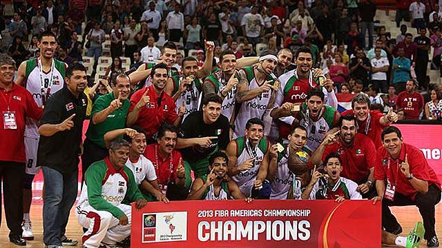Triunfo en el Campeonato de América de la Selección Mexicana de Baloncesto el Campeonato