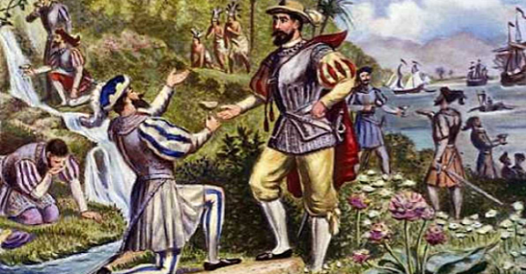 Juan Ponce de Leon becomes the first Spanish explorer to set foot in Florida