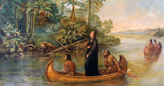Jacques Marquette and Louis Joliet become the first Europeans to map northern Mississippi river